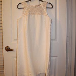 Scalloped Embellished LOFT Dress
